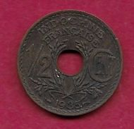 Indochine - 1/2 Centime - 1935 - Monnaies