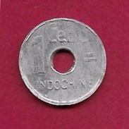 Indochine - 1 Centime - 1943 - Otros – Asia