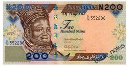 NIGERIA 200 NAIRA 2017 Pick 29r Unc - Nigeria