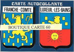 70- LUXEUIL LES BAINS  - BLASON -ECUSSON HERAIDIQUE - Luxeuil Les Bains