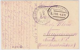 Occupation, 1915, Ambulant Tres Claire ! ,   #8714 - WW I