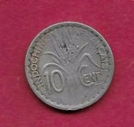 Indochine - 10 Centimes - 1941 - Coins