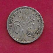 Indochine - 10 Centimes - 1941 - Monnaies