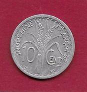 Indochine - 10 Centimes - 1945 - Monnaies