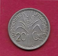 Indochine - 20 Centimes - 1941 - Otros – Asia