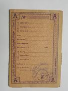 Rationnement - Carte D'Alimentation - Avec Tickets - Bray Sur Seine - Historical Documents