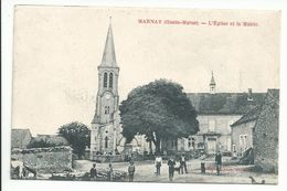 MARNAY (52) église Et Mairie - Altri Comuni
