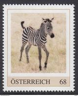 ÖSTERREICH 2017 ** Zebra - PM Personalized Stamps MNH - Personalisierte Briefmarken