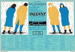 BUVARD Publicitaire VALENSY Chapeau élégant, Imperméable, Léger, Confortable - Textile & Vestimentaire