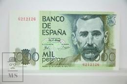 Spain/ España 1000 Pesetas/ Ptas Spanish Banknote - Issued 1979 - UNC Quality - [ 4] 1975-… : Juan Carlos I