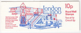 United Kingdom - Booklet : 'London 1980 - International Stamp Exhibition' - Stamps: Two At 1p, One At 8p - Boekjes