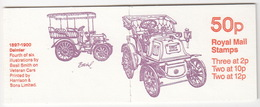 United Kingdom - Booklet : 'Veteran Cars - 1897-1900 Daimler' - Stamps: Three At 2p, Two At 10p, Two At 12p - Boekjes