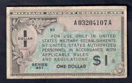 USA 1 $ SERIE 461 1946   LOTTO 062 - Certificati Di Pagamenti Militari (1946-1973)