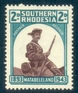 Southern Rhodesia 1943. 2d Occupation Matabeleland, SACC 63*, SG 61*. - Südrhodesien (...-1964)