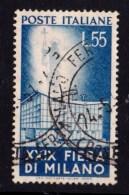 Italy 1951 Milan Trade Fair 55L Used - 1946-60: Used