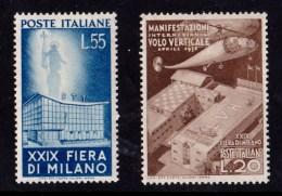 Italy 1951 Milan Trade Fair Set MH - 6. 1946-.. Republic