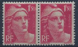 France Variétés N° 712 1f50 M. De Gandon Rose POSTES  Absent Tenant à Normal Qualité: ** - 1945-54 Marianne De Gandon