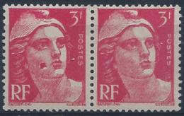 France Variétés N° 716 3f M.de Gandon Rose Grosse Tâche Sur La Joue Tànl Qualité: ** - 1945-54 Marianne De Gandon