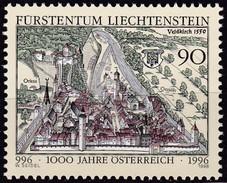 Liechtenstein, 1996, Mi.1137,  1000 Jahre Österreich. MNH ** - Nuevos