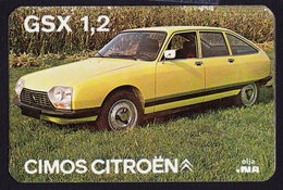 SERBIA GSX 1,2 CIMOS CITROEN AUTO CAR POCKET CALENDAR 1978  (see Sales Conditions) - Formato Piccolo : 1971-80