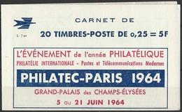 France Carnets N° 1263 - C4 0,25 M. De Decaris (S.7-64) Qualité: ** Cote: 100 € - Carnets