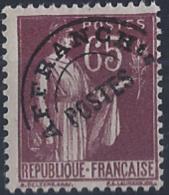 France Préoblitérés N° 73 65c Paix Violet-brun Qualité: ** Cote: 180 € - Préoblitérés