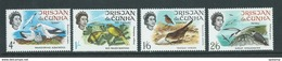 Tristan Da Cunha 1968 Island Birds Set Of 4 MNH - Tristan Da Cunha
