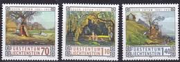 Liechtenstein, 1996, Mi.1138/40,  Liechtensteiner Maler. MNH ** - Nuevos