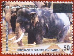 FREE POSTAGE!! Sri Lanka 2007 2003 Elephants, Surcharge, Overprinted, Elefanten, Fauna, 1v, MNH Mint, Postfrisch, Ex - Olifanten
