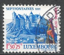 Luxembourg 1970. Scott #B277 (U) Septfontaines Castle - Luxembourg