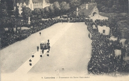 2. LOURDES - PROCESSION DU SAINT-SACREMENT . NON ECRITE - Lourdes