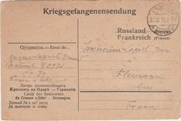 WW1 - Carte Postale D Un Prisonnier De Guerre Du Camp De CROSSEN -  L  2177 - 1. Weltkrieg 1914-1918