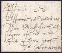 1681. LIEGE TO ANTWERP. VERY FINE. - Bélgica