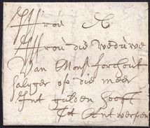 1681. LIEGE TO ANTWERP. VERY FINE. - Belgien