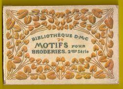 MOTIFS Pour BRODERIES 2 * BIBLIOTHEQUE DMC Ca1900 BRODERIE D.M.C. POINT DE CROIX CROSS STITCH KRUISSTEEK DENTELLE Z317 - Punto Croce
