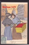 NN811 - FEMMES - FRAU - LADY - LES TROTTINS DE PARIS ( Couturières Couturière Ouvrière Modiste) - GOTTLOB - Künstlerkarten