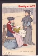 NN813 - FEMMES - FRAU - LADY - LES TROTTINS DE PARIS ( Couturières Couturière Ouvrière Modiste) - GOTTLOB - Künstlerkarten