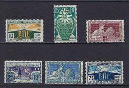"""FR YT 210 à 215 """" Expo Internationale Arts Décoratifs """" 1924-25 Oblitéré - Frankreich"""