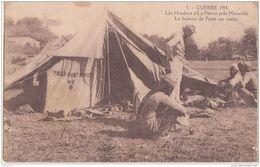 MARSEILLE GUERRE DE 1914 LES HINDOUS LA PENNE BUREAU DE POSTE - Guerre 1914-18