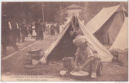 MARSEILLE  GUERRE DE 1914 LES HINDOUS LA BARASSE CPA BON ÉTAT - Guerre 1914-18