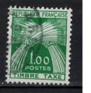 FRANCE      N° YVERT  :     TAXE   94       ( 4 )      OBLITERE - Portomarken