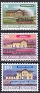 Liechtenstein, 1997, Mi.1155/57, 125 Jahre Eisenbahn In Liechtenstein. MNH ** - Liechtenstein
