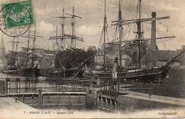 35 REDON  Bassin à Flot - Redon