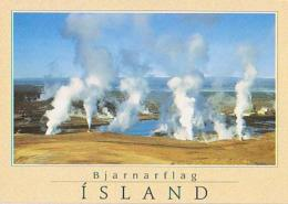 Islande        H16        Bjarnarflag.View Of The Diatrmete Power Plant - Islande