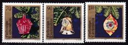 Liechtenstein, 1997, Mi.1159/61,  Weihnachten: Christbaumschmuck. MNH ** - Unused Stamps