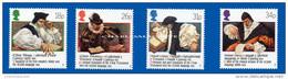 GREAT BRITAIN 1988 WELSH BIBLE U.M. S.G. 1384-87  BIBLE EN GALLOIS   N.S.C. YT 1303-1306 - Nuovi
