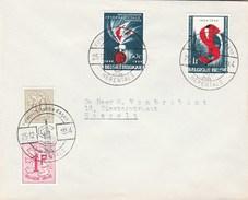 1964 BELGIUM COVER EVENT Pmk  SOCIALIST INTERNATIONAL, HERENTALS , Stamps Socialism Politics - Belgium