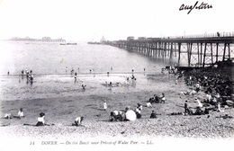 #& Dover - On The Beach Near Prince Of Wales Pier - Dover