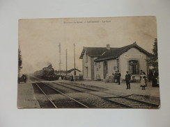 Lavannes-Caurel, La Gare. - France
