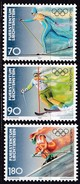 Liechtenstein, 1997, Mi.1162/64,  Olympische Winterspiele 1998, Nagano. MNH ** - Unused Stamps